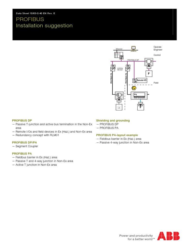 Fantastisch Profibus Schaltplan Bilder - Schaltplan Serie Circuit ...