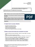 Programme Excel Avancé