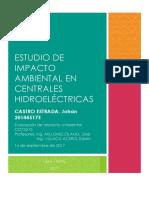 Estudio de Impacto Ambiental en Centrales Hidroeléctricas