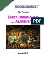 Dieta Imperiale e ... Alimentare