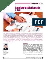 Employer Employee Relationship Servicetax