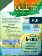 MS Parent Bulletin (Week of October 9 to 13)
