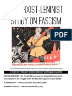A Marxist-Leninist Study on Fascism