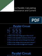 Resistors in Parallel, Calculating Voltage, Resistance