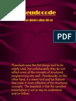 Pseudocode Basics