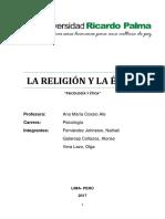 Mono Etica y Religión