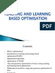 TEACHING AND LEARNING BASED OPTIMISATION