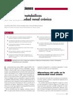 Alteraciones Metabólicas en La ERC