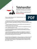 Articulo Telehandler