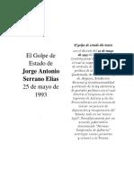 Auto-golpe de estado de Serrano Elías