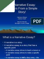 Narrative Essay