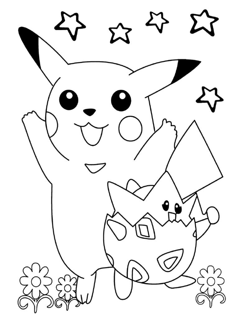 Mewarnai Gambar Pokemon 7