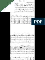 Turkish March (String Quartet) - Wolfgang Amadeus Mozart
