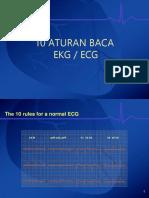 EKG Aturan