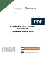 A Taplalkozastudomany Alapjainak Megvalositasa.pdf