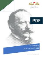 Cesar Ritz Brochure