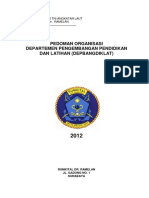 Hpk.7-8 Pedoman Pengorganisasian Depbangdiklat Rsal 2012