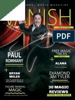 Vanish Magic Magazine Paul Romhany Edition 26