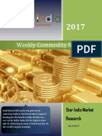 Weekly Commodity News Latter 09-10-2017