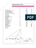 Pipeline Lowering Calculation