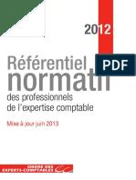 Referentiel Normatif 2012 Maj0613