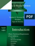 Advances in Shrimp Nutrition