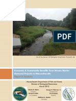 Phase III Benefits From Stream Barrier Removal Projects