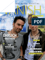 Vanish Magic Magazine the Ehrlich Brothers