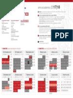 Calendario Didattico Università degli studi di firenze 2017 -2018