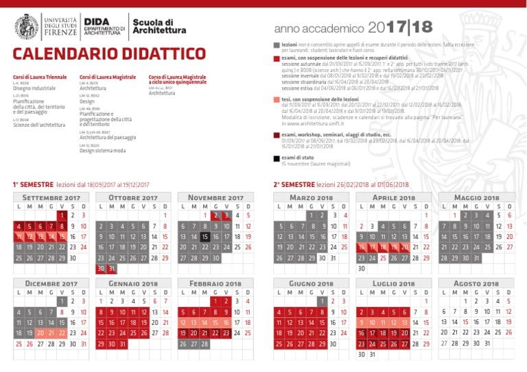 Calendario Unifi Economia.Calendario Unifi Calendario 2020