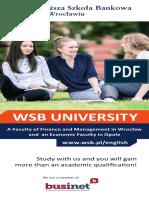 Informator 2017 - Wyższa Szkoła Bankowa We Wroclawiu_eng