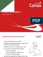 Calnex Paragon X Testing 1588v2