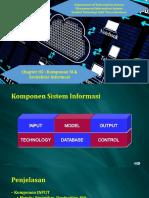 Arsitektur Informasi Dan Komponen SI