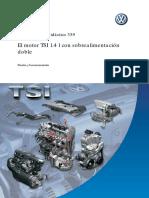 VW, El Motor TSI 1.4 l Con Sobrealimentación Doble