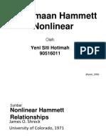 Nonlinear Hammett Relationships