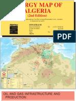 Algeria Energy Map 2d Edition