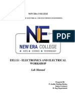 EEW Lab Manual- Final