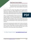Turkey Power Sector Analysis