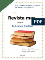 """Proiect """"Revista mea"""""""