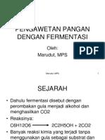 10. Pengawetan Pangan Dengan Fermentasi