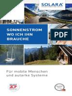 Solara Katalog Mobil de Screen