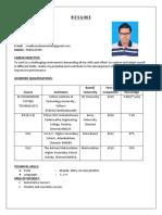 Madhu's Resume