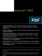 Chapter 12 - Customs Act 1962