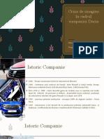 Dacia Criza de Imagine