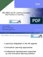 4 _Presentation by Mia Vanstraelen IBM on Elearning