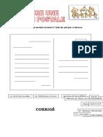 Ecrire Une Carte Postale Comprehension Orale 44605
