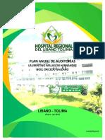 Plan Anual de Auditorias 2015