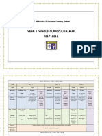 Yr 1 Whole Curriculum Map