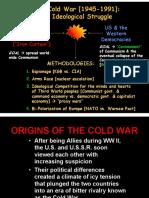 Beginning of Cold War