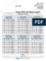 Dom Steel Pipe Sheet